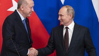 Vladimir Putin Recep Tayip Erdogan