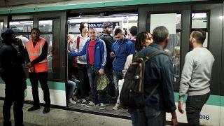 Une station de métro à Paris, le vendredi 13 septembre 2019