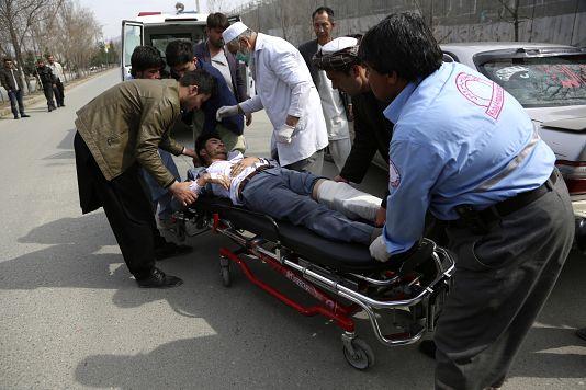 Kabil'de düzenlenen saldırıda yaralananlar çeşitli hastanelere nakledildi