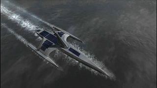 Barco com inteligência artificial vai cruzar o Atlântico