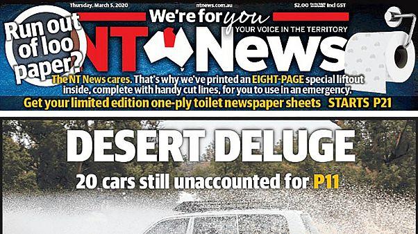 الصفحة الرئيسية من عدد إن تي نيوز