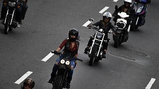 شاهد: نساء يتحدين التحرش بناد خاص للدراجات النارية في فنزويلا