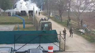 Spannungen an der griechischen Grenze - Türkei setzt Tränegas ein