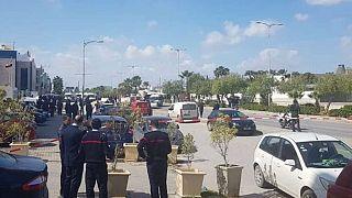 Tunus'un başkenti Tunus'ta ABD Büyükelçiliği yakınında intihar saldırısı