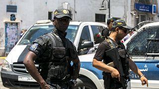 Αστυνομικοί στην Τύνιδα (ΑΡΧΕΙΟΥ)