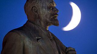 Статуя Ленина в Подольске.
