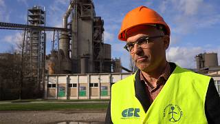 How can cement factories be carbon-neutral by 2050?