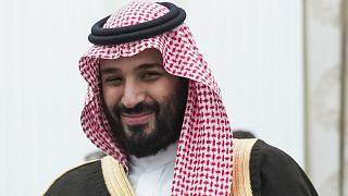 Saudi Crown Prince and Defense Minister Mohammed bin Salman, (MBS), file photo, May 30, 2017. (AP Photo/Pavel Golovkin, Pool, File)