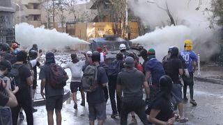 Şili'de hükümet karşıtı eylemler 20'nci haftasında