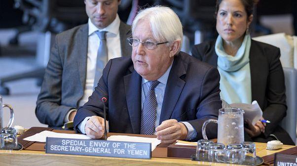 Birleşmiş Milletler Özel Temsilcisi Martin Griffiths