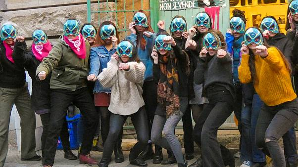 Activists of Lucha y Siesta