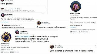 Screenshots der Tweets