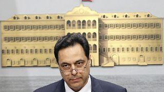 حسان دياب رئيس ورزراء لبنان