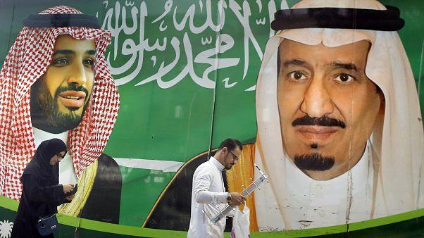 Três príncipes sauditas detidos