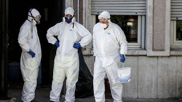 Стремительное распространение коронавируса в Италии
