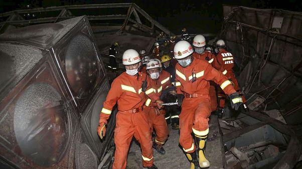Einsturz von Quarantänehotel: Mindestens 4 Tote und 5 schwer Verletzte