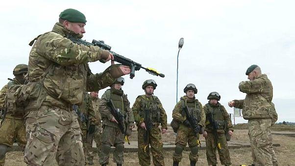 Militärübung in Weißrussland