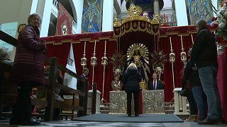El COVID-19 ensombrece los preparativos de la Semana Santa en España