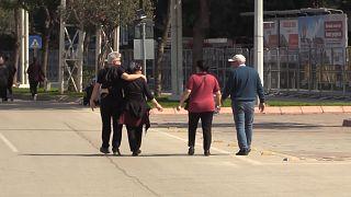 Adana'da düzenlenen 8 Mart Kadınlar Günü mitingine erkekler alınmadı