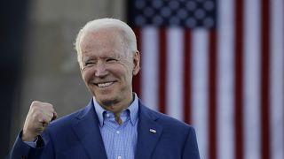 جو بایدن در کارزار انتخاباتی سال ۲۰۲۰