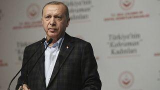 Recep Tayyip Erdogan in Istanbul