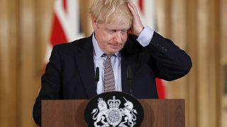 """Johnson besucht Flutopfer und wird als """"Verräter"""" beschimpft"""