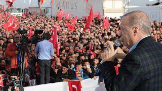 Erdoğan Silivri'de halka hitap etti