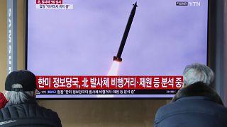 Kuzey Kore yeni füze denemesinde bulundu
