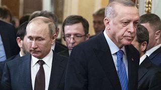 Cumhurbaşkanı Erdoğan, Putin ile Moskova'da bir araya gelmişti