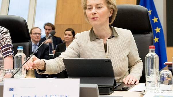 Weekly meeting of the von der Leyen Commission