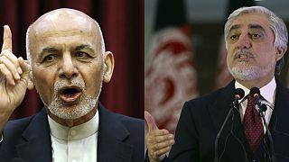 Afganistan Cumhurbaşkanı Eşref Gani, rakibi İcra Heyeti Başkanı Abdullah Abdullah
