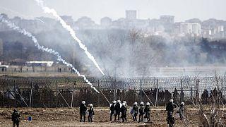 Tränengaseinsatz: Kinder nahe am Ersticken an griechisch-türkischer Grenze