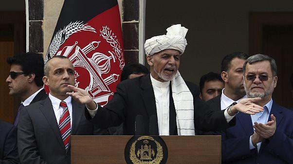 الرئيس الأفغاني أشرف غني أدى اليمين لولاية ثانية في القصر الرئاسي