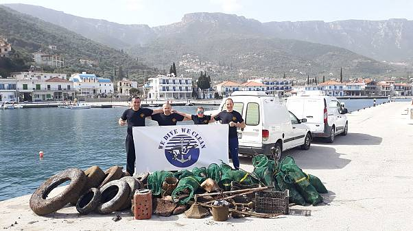 Τυρός: Καθαρισμός βυθού στο παλιό λιμάνι