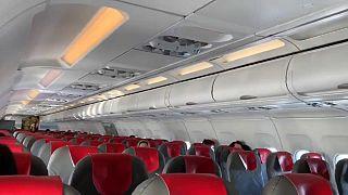 """Rumbo a Roma en un vuelo """"fantasma"""""""