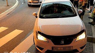 Herzinfarkt am Steuer: Der Fahrer konnte sein Auto anhalten, bevor er bewusstlos wurde.