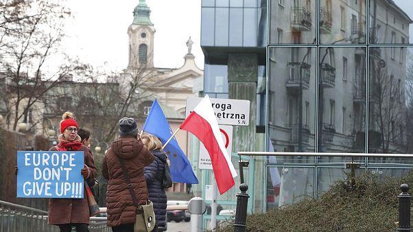 Eine umstrittene Justizreform sorgt seit Monaten für Proteste in Polen und hat international Kritik ausgelöst