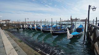 Tempos turvos deram origem a águas cristalianas em Veneza