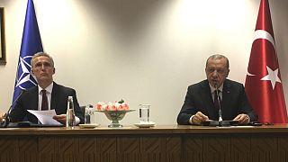 دبیرکل ناتو در جریان دیدار با اردوغان: پشتیبانی از ترکیه ادامه خواهد یافت