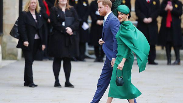 Harry és Meghan utolsó hivatalos programján vesz részt a királyi család kötelékében