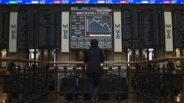 Lunes negro en los mercados europeos