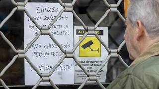 In Rome, Monday, March 9, 2020. Italy announced a sweeping quarantine early Sunday for its northern regions