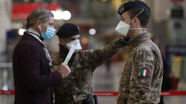 İtalya'da koronavirüs salgını