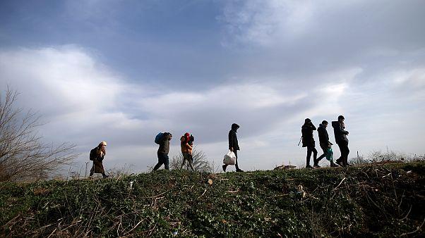 Το euronews στην τουρκική πλευρά των συνόρων: «Ό,τι κι αν γίνει, θα τους βοηθήσω να περάσουν»