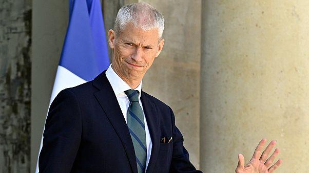 Fransa Kültür Bakanı Franck Riester