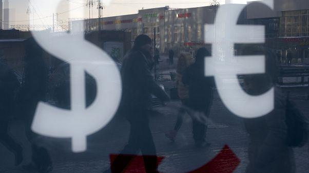 Индекс РТС обрушился на открытии торгов Мосбиржи