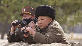 زعيم كوريا الشمالية كيم جونغ أن
