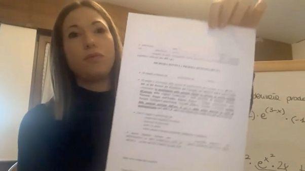 """Silvia, profesora en Padua: """"Si me para la policía debo enseñar un certificado"""""""