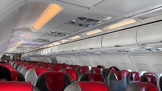 Coronavirus : des vols fantômes maintenus et des aéroports déserts