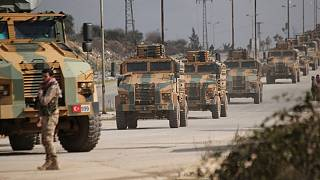 نظامیان ترکیه و روسیه در ادلب به طور مشترک گشتزنی میکنند